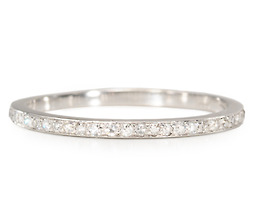 An Eternity of Style - Platinum Diamond Band
