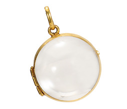All To See: Edwardian Rock Crystal Locket
