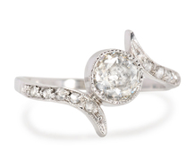 With a Twist - Vintage Diamond Ring