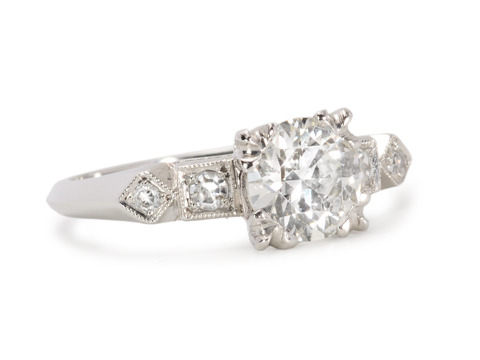 Lifetime Awaits - Platinum 1.18 c Diamond Ring