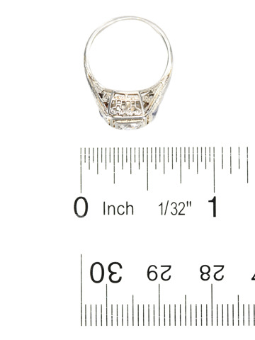 Vintage Engagement Ring of Note