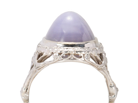 Vintage Art Deco Star Sapphire Ring