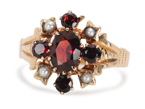 Garnets Galore - Estate Gemstone Ring
