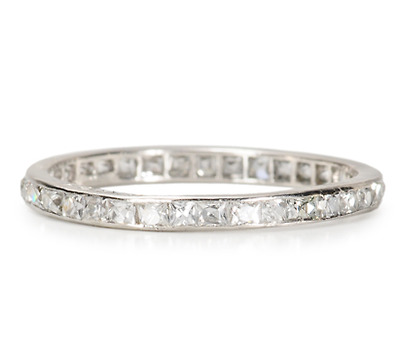 Love Reigns - French Cut Eternity Band