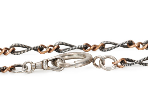 Bands of Style - Niello Chain Necklace