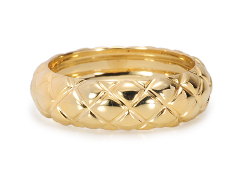 Tiffany Flair - Gold Wedding Band