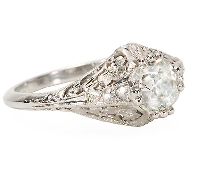 Unforgettable Diamond Engagement Ring