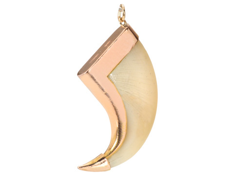Antique Tiger's Claw Pendant in Rose Gold