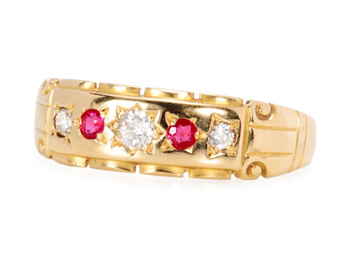 Diamond & Ruby Ring of 1898