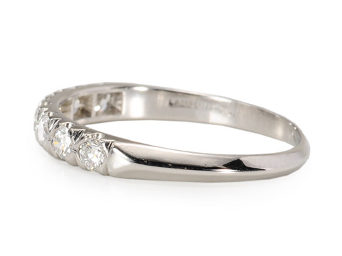 The Seven Sisters - Estate Diamond Eternity Band
