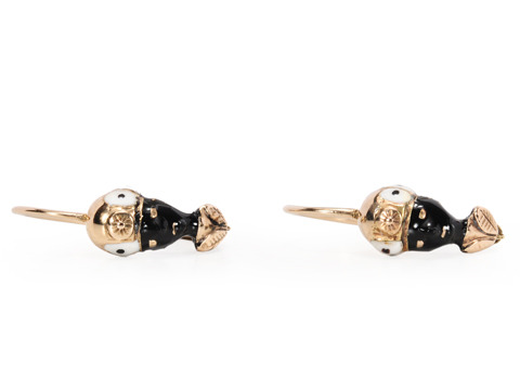 Coveted Antique Blackamoor Earrings