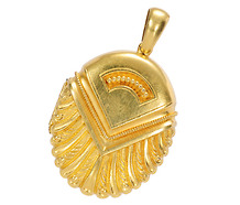 Antique Archaeological Revival Locket Pendant