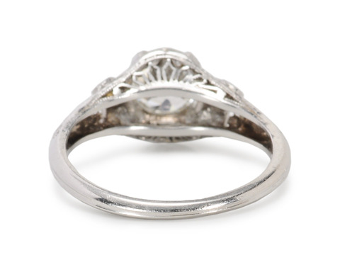 Superb Edwardian Diamond Engagement Ring