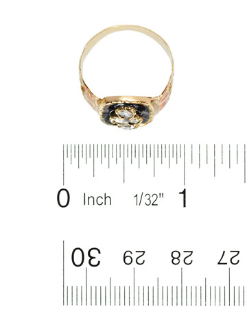Vive La France - Rose Cut Diamond Ring