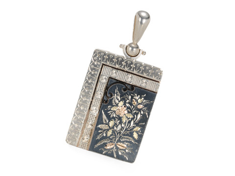 Aesthetic Period Silver Locket Pendant
