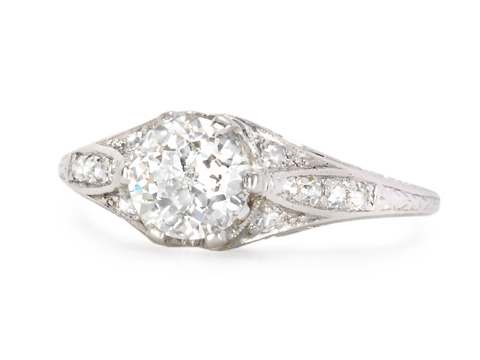 A Rarity - Jubilee Cut Diamond Engagement Ring