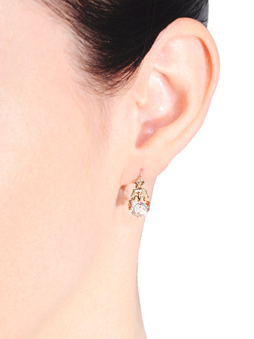 Dazzlers - Victorian Diamond Earrings