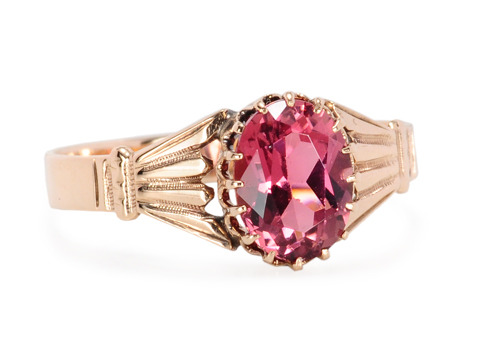 Nature's Edwardian Garden: Garnet Ring