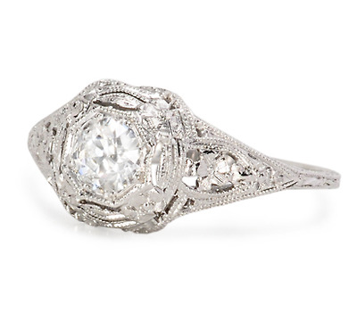 Stunner: Vintage Art Deco Diamond Ring