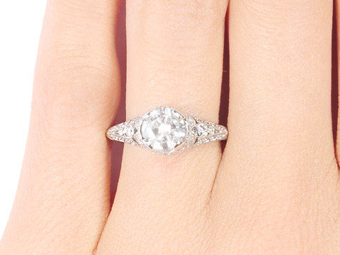 Breathtaking Diamond Engagement Ring