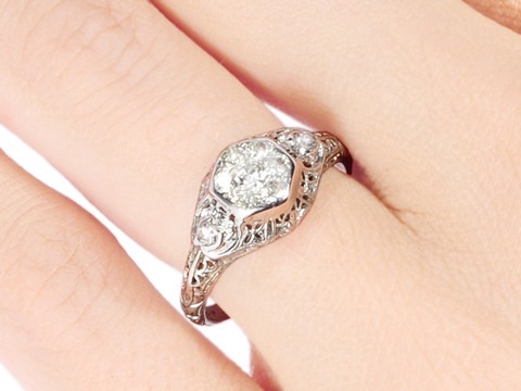 Just for You: Vintage Diamond Ring