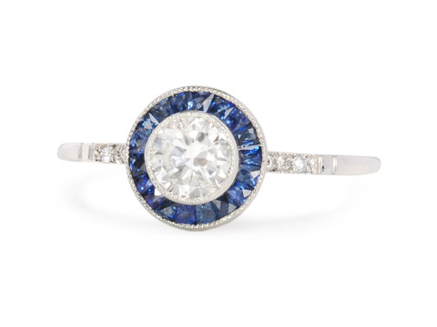 Right on Target with Diamonds & Sapphires