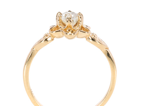 Edwardian Solitaire Diamond Ring