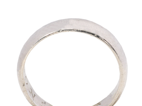 Continve Constant - Silver Poesy Ring