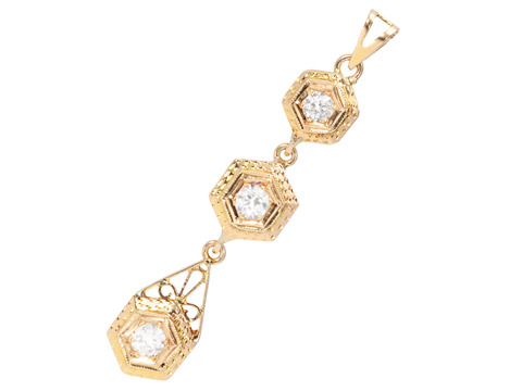 Enticing Diamond Pendant