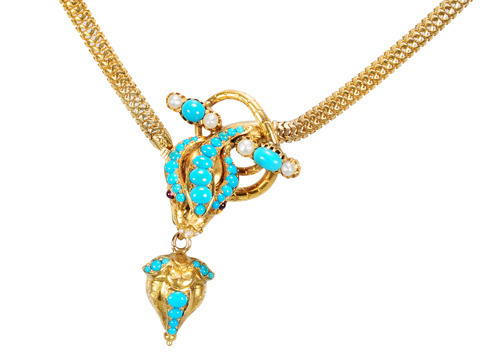 At Its Best: Victorian Snake Necklace