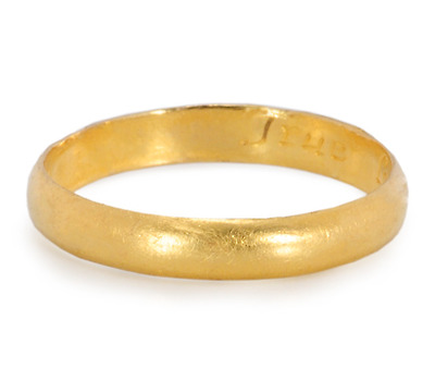 17th C. Poesy Ring: True Love is Endlesse