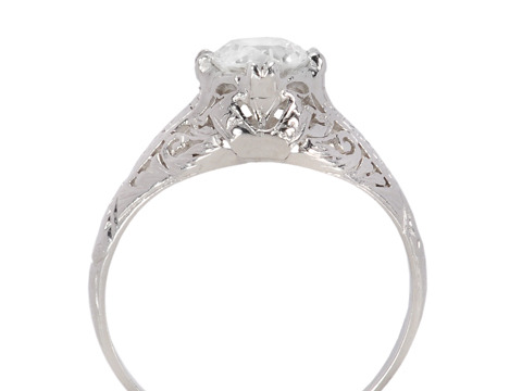 Sweet Dreams: Diamond Engagement Ring