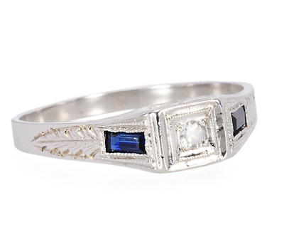 Two Squared: Art Deco Ring of 1931