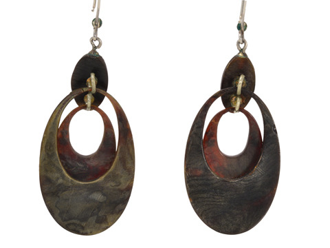 Piqué Divine: Antique Tortoiseshell Earrings