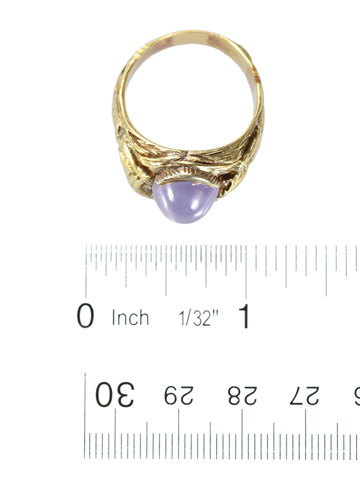 Lion's Share: Star Sapphire Lion Ring