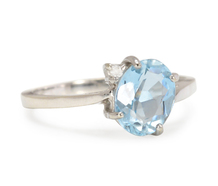 Ethereal Aquamarine Ring