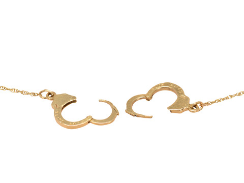 Bound by Desire: Handcuff Necklace