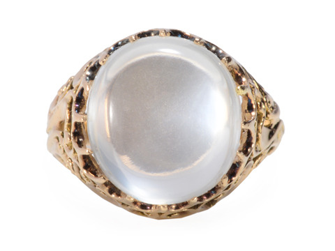 Magical Mystery Moonstone Ring