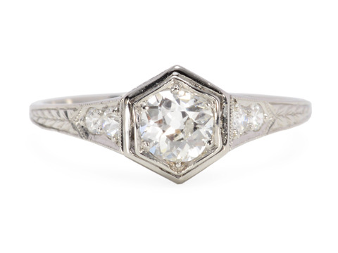 Art Deco Diamond Set Ring
