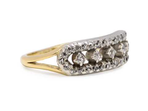 Early Victorian Diamond Set Ring