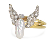 Freedom Has Wings Diamond Ring