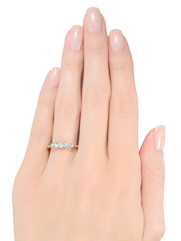 Just Because: Five Diamond Ring