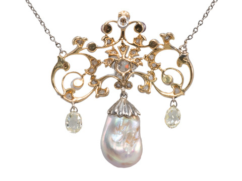 Treasure of the Sea: Natural Pearl Necklace