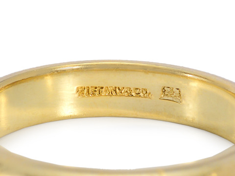 Man's Tiffany 22k Wedding Band of 1899