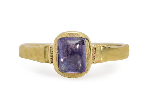 Very Rare Late Medieval Sapphire Ring