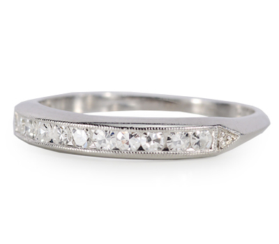 Forever More: Diamond Half Eternity Ring