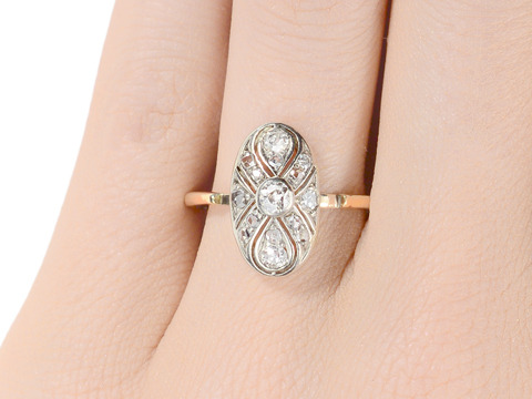 Russian Realm - Diamond Set Ring