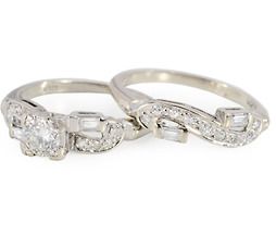 I Do! Diamond Wedding Set