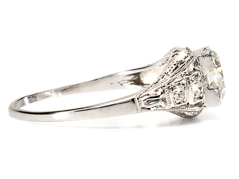 Destiny in Diamonds - 1.07 C. Engagement Ring