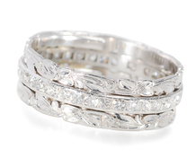 Impressive Diamond Platinum Full Eternity Band